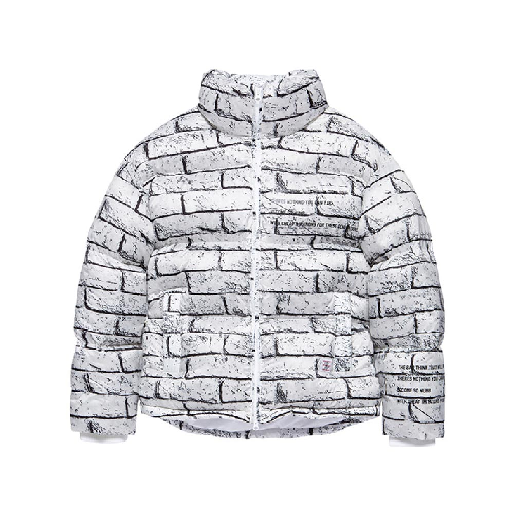 [BADINBAD] BRICK DUCK DOWN PARKA